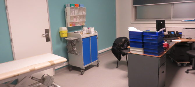 Un poste médical de garde de médecine générale à Anderlecht